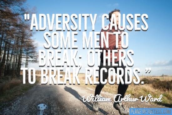 Break records