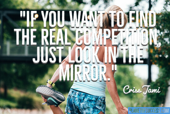 Just look in the mirror