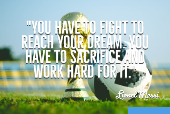 Fight to reach your dream