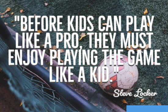 Before kids can play