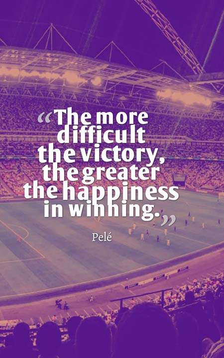 The 65 Most Inspirational Soccer Quotes | Planet of Success