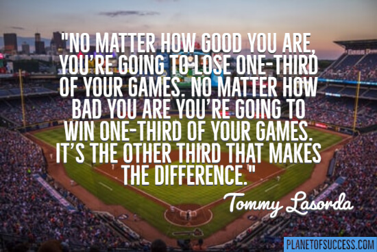Quote about baseball