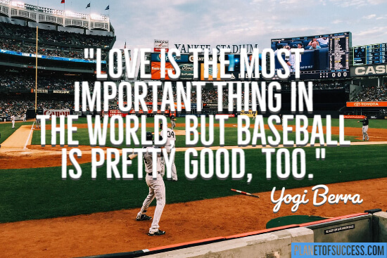 Baseball is pretty good quote