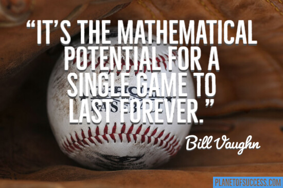 The mathematical potential quote