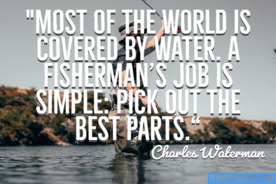 A fisherman's job quote