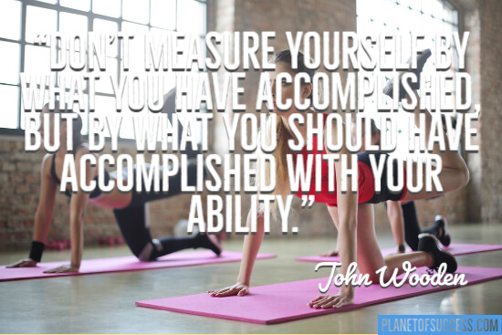 What you should have accomplished with your ability quote