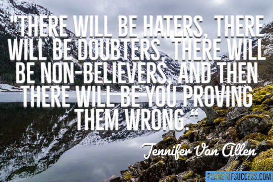 There will be haters quote