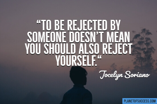 Reject yourself quote