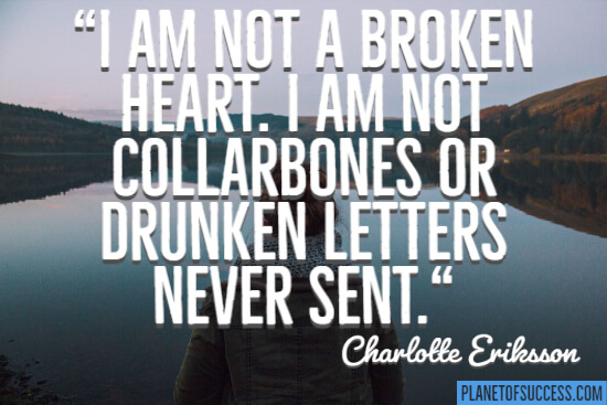 I am not a broken heart