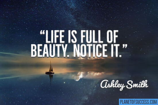 85 Life Is Beautiful Quotes | Planet of Success