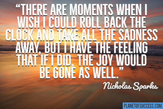 There are moments when I wish I could roll back the clock quote