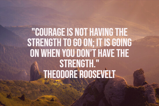 Roosevelt quote about strength