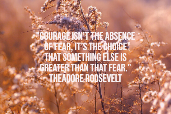 Quote about courage