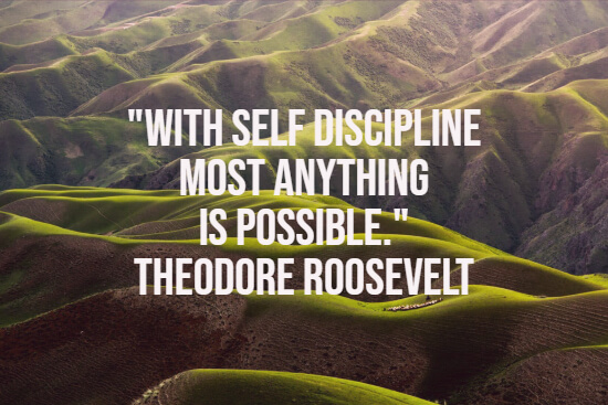 Self-discipline quote