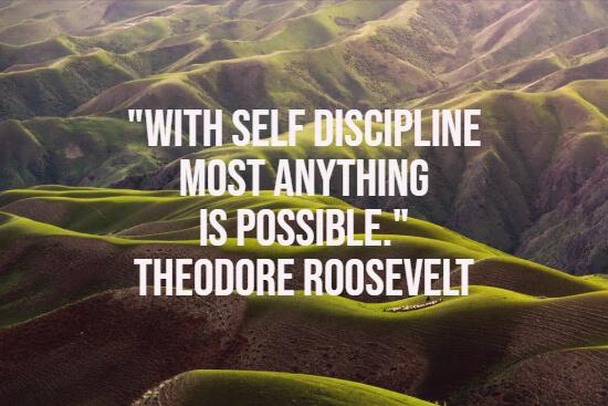 Self-discipline quote