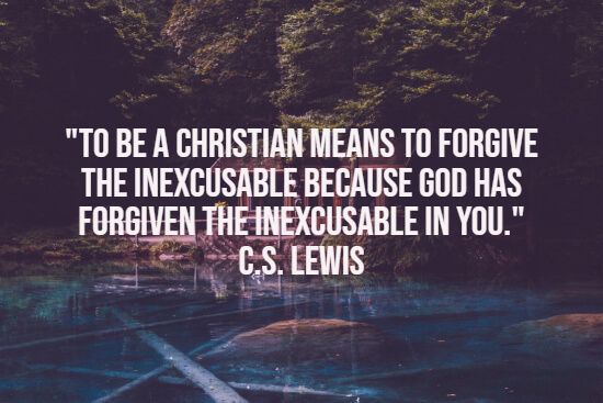 Quote about forgiving
