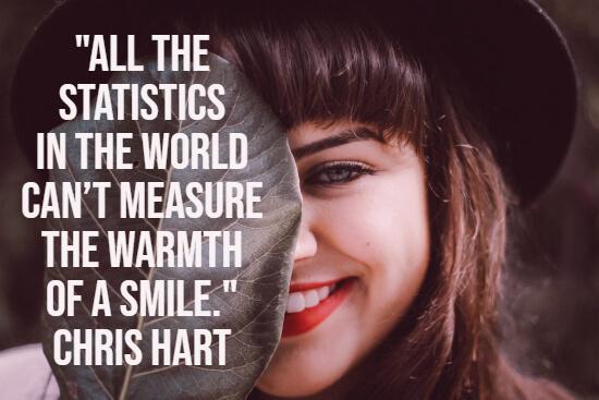 Smile statistics quote