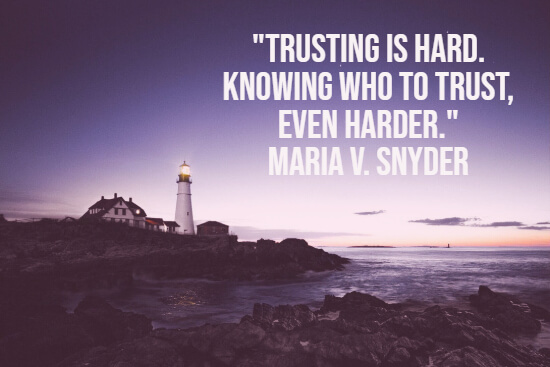 Importance of trusting