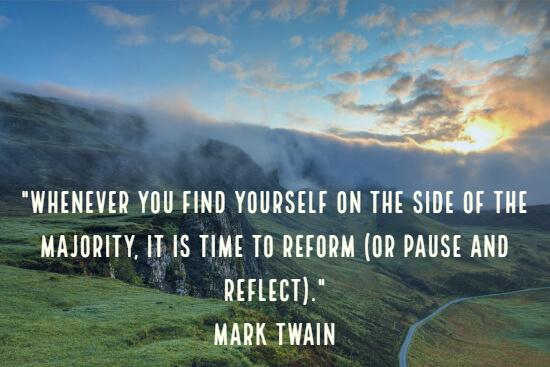 Insightful quote