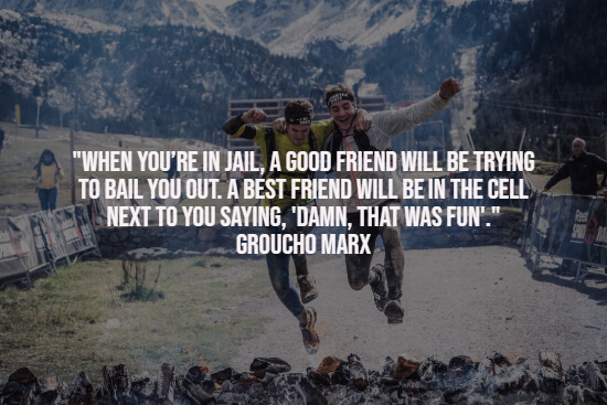 Best friend quote about having fun