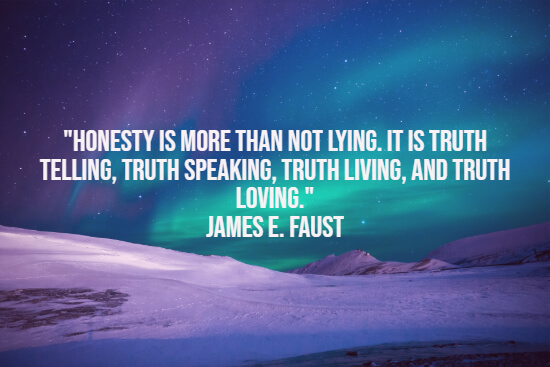 Loving honesty