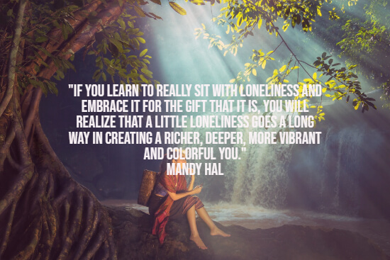 Quote about being lonely