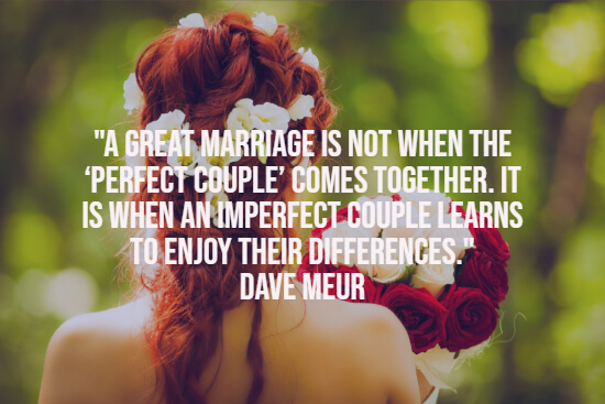 A great marriage