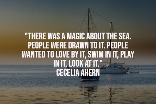 Quote about the sea