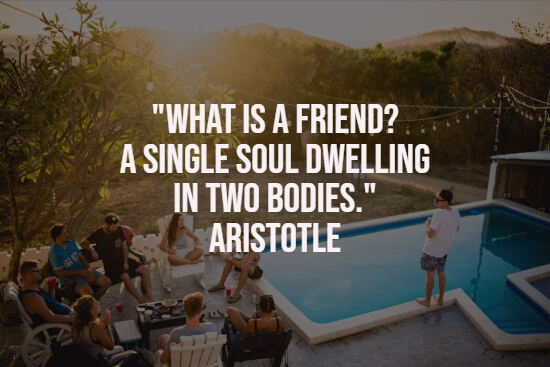 Beautiful quote about friends
