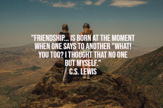 友谊的诞生