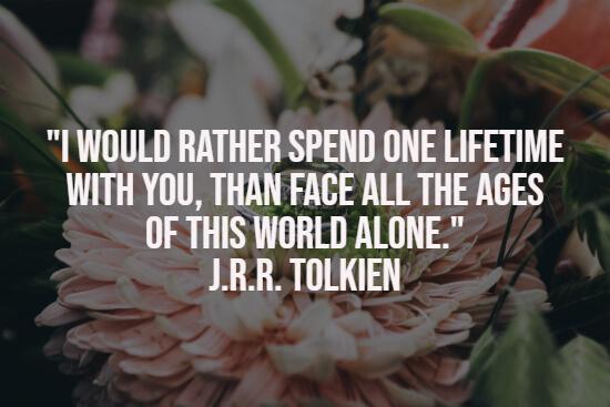 Eternal wedding quote