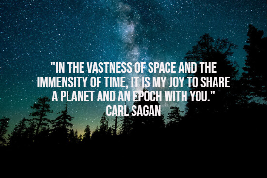 vastness of space