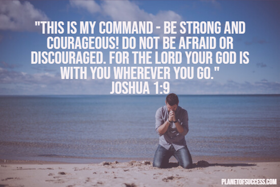 Bible quote about strength