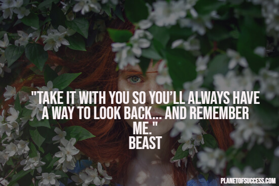 mirror quote from beauty and the beast