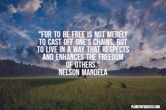 Being free quote