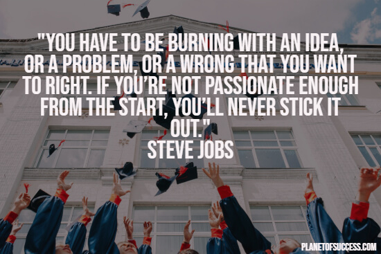 Steve jobs commencement speech quote
