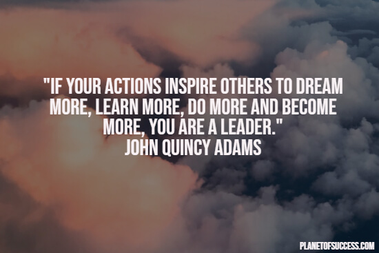 Quote about leadership