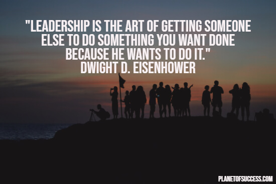 The art of leadership quote