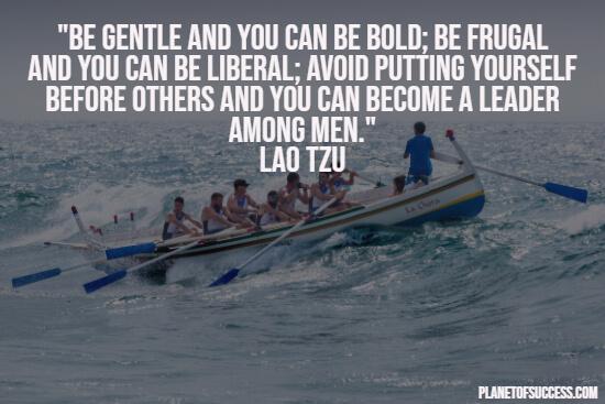 作为一个领袖