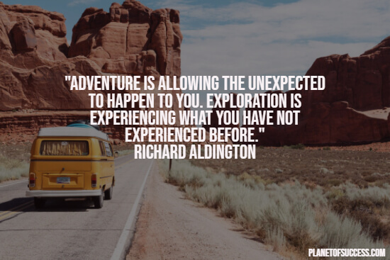Quote about traveling adventures