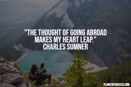 Going abroad quote