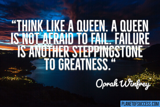 Think like a queen quote