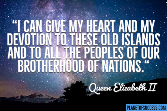 I can give my heart and my devotion to these old islands quote