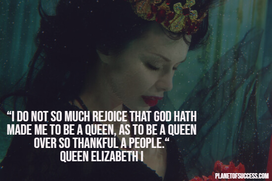 Ruling over thankful people quote