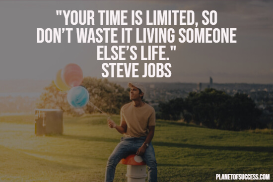Short life quote about limited time