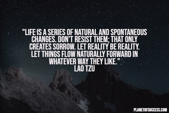 Spontaneous changes quote