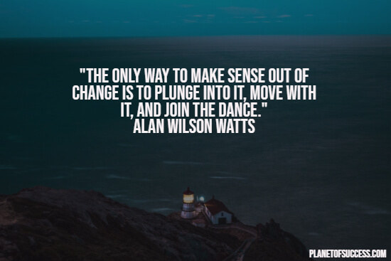 Making sense of change quote