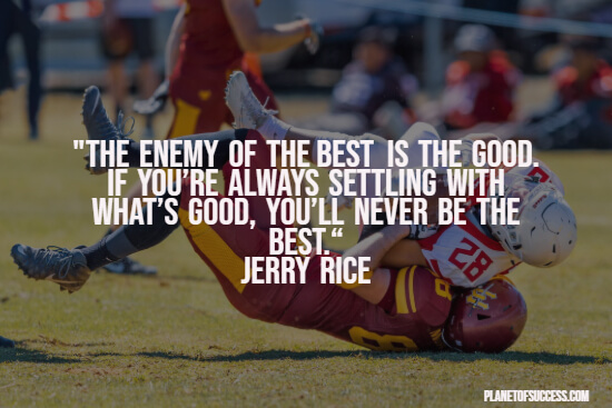 Motivational football quote