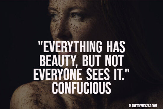 Seeing beauty quote