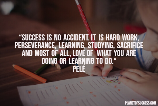 Success in school quote